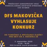 Konkurz DFS Makovička