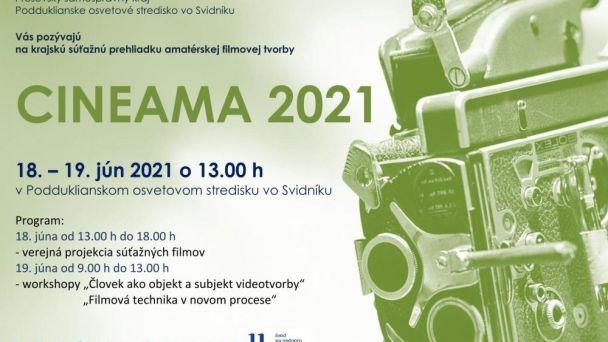 CINEAMA 2021 - vyhodnotenie krajskej súťaže