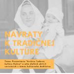 Návraty k tradičnej kultúre (aktivita č.1)
