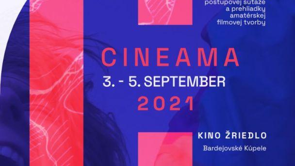 CINEAMA 2021-celoslovenská súťažná prehliadka neprofesionálnej filmovej tvorby